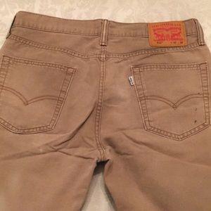 Levi's 514 Jeans Khaki 32/32
